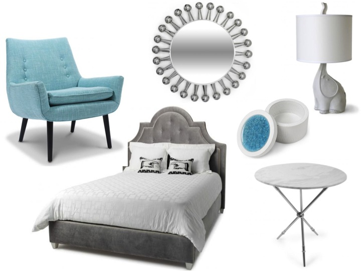 Stunning Light Blue and Gray Bedroom 720 x 540 · 67 kB · jpeg